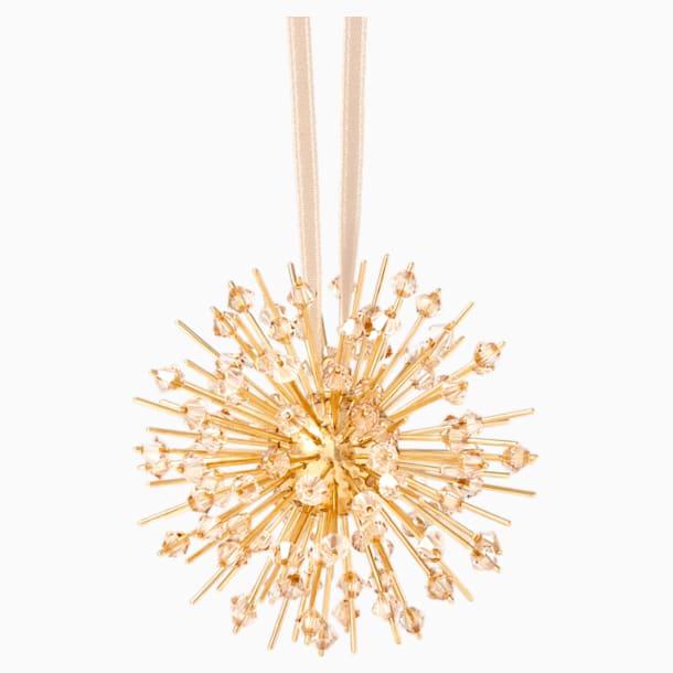 Icons of Light Hanging Ornament, Gold tone - Swarovski, 5572960