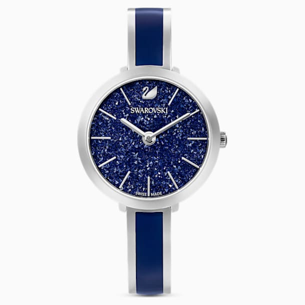 Crystalline Delight 워치, 메탈 브레이슬릿, 블루, 스테인리스 스틸 - Swarovski, 5580533