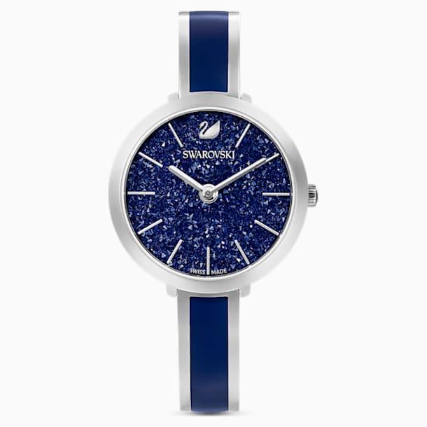 Crystalline Delight Saat, Metal bileklik, Mavi, Paslanmaz çelik - Swarovski, 5580533