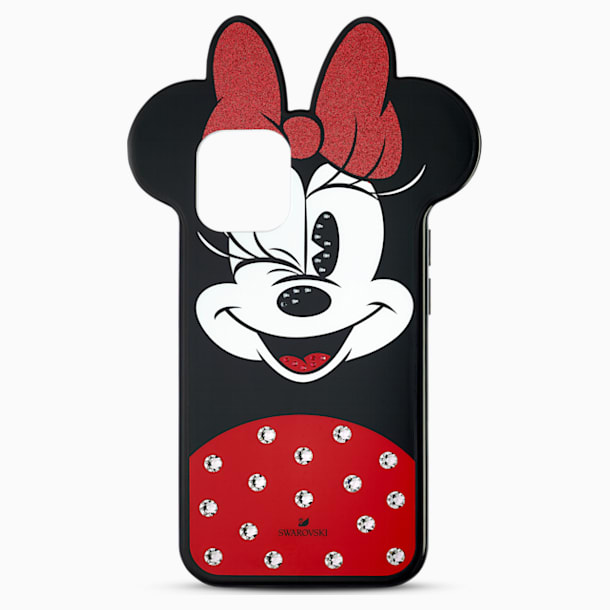 Minnie Smartphone Case, iPhone® 12 mini, Multicoloured - Swarovski, 5592048