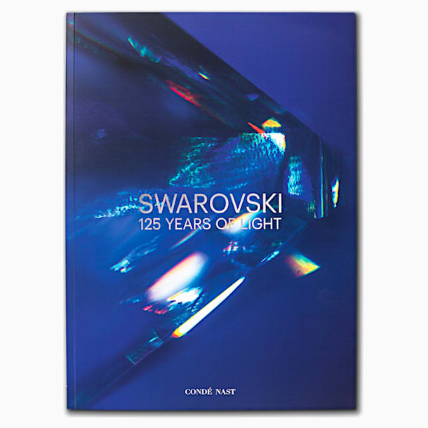 Swarovski 125 Years of Light, Anniversary book, Blue - Swarovski, 5612274