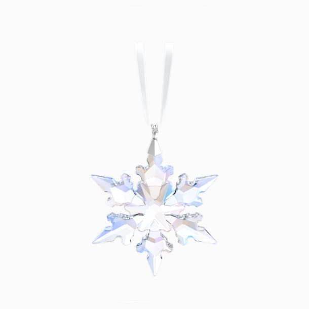 Little Snowflake Ornament, Shimmer - Swarovski, 5612672