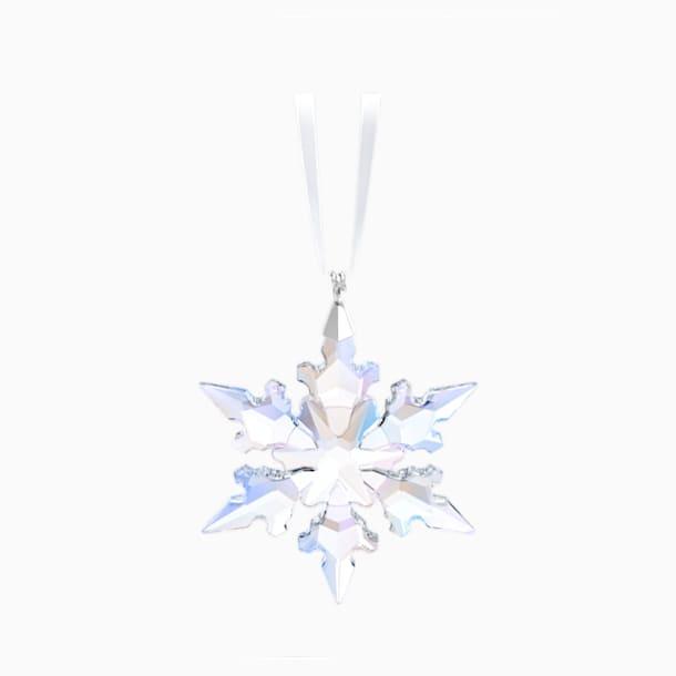 Little Snowflake Ornament, Shimmer - Swarovski, 5612672