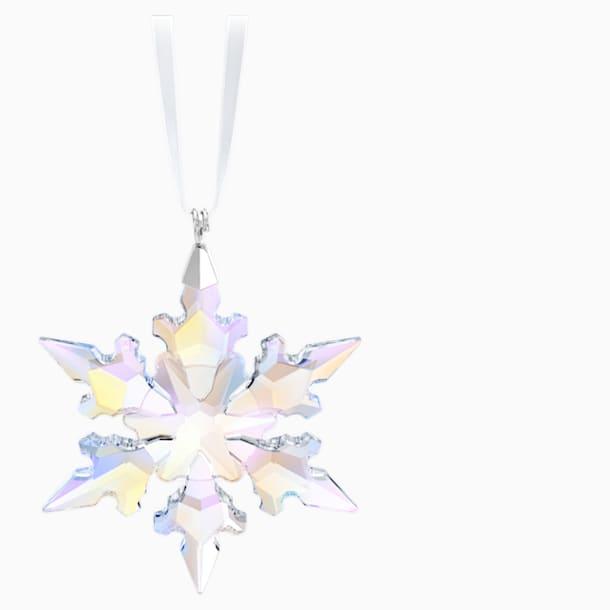 Decorazione Fiocco di Neve piccolo, Crystal AB - Swarovski, 5612681