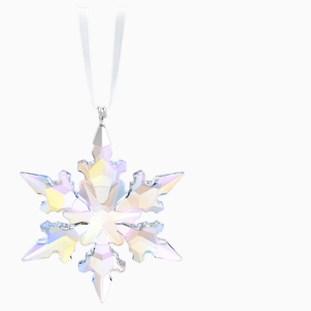 Little Snowflake Ornament, Crystal AB - Swarovski, 5612681