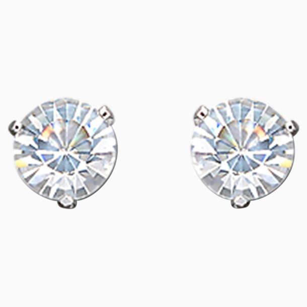 Solitaire Pierced Earrings - Swarovski, 861325