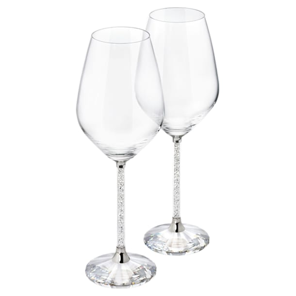 Crystalline White Wine Glasses (Set 2) - Swarovski, 1095947