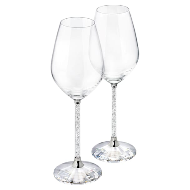 크리스털린 와인 글라스(2잔 세트) - Swarovski, 1095948