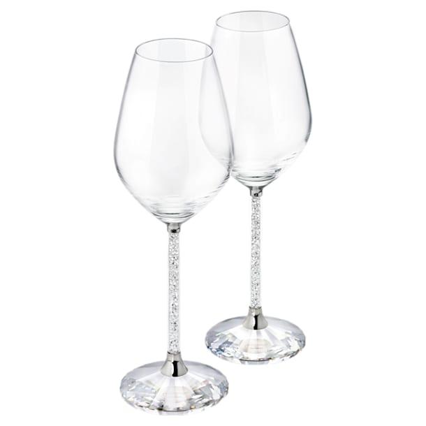 Sklenice na červené víno Crystalline (dvojdílná sada) - Swarovski, 1095948