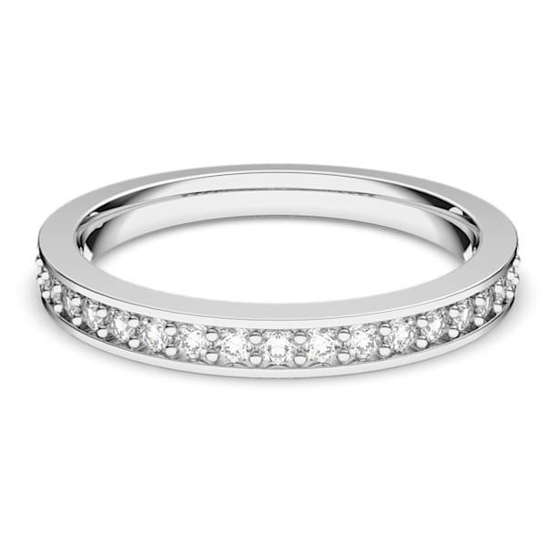 Rare Кольцо, Белый Кристалл, Родиевое покрытие - Swarovski, 1121069