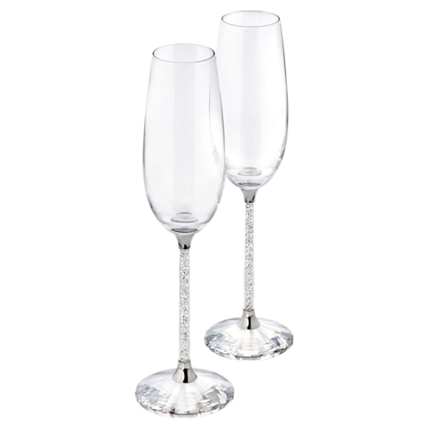 Crystalline Toasting Flutes (Set of 2) - Swarovski, 255678