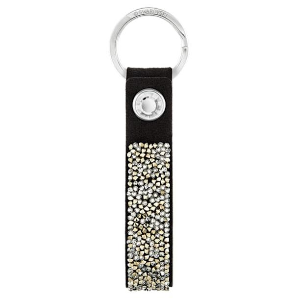 Glam Rock Key Ring, Black, Stainless steel - Swarovski, 5174947