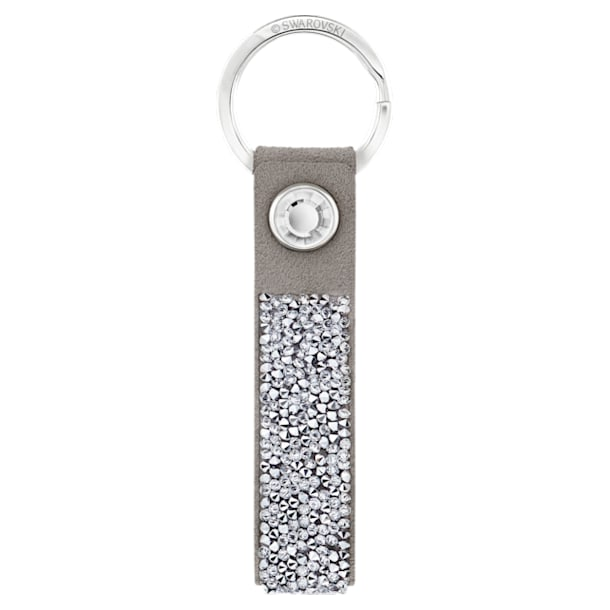 Glam Rock Key Ring, Grey, Stainless steel - Swarovski, 5174951