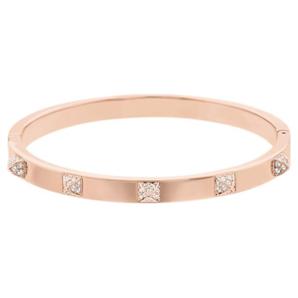 Bracelete Tactic, Branco, Lacado a Rosa dourado - Swarovski, 5184528