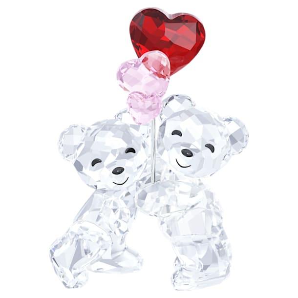 Medvídek Kris – srdíčka jako balónky - Swarovski, 5185778