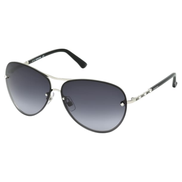 Fascinatione Sunglasses, SK0118 17B, Black - Swarovski, 5219658