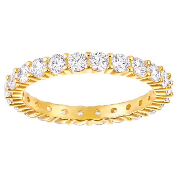 Anello Vittore XL, bianco, placcatura oro - Swarovski, 5240577