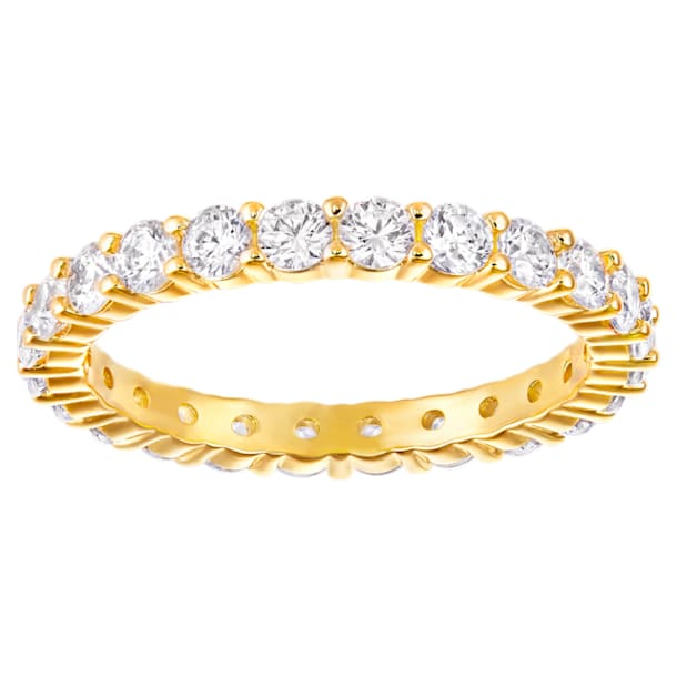 Vittore XL Ring, weiss, vergoldet - Swarovski, 5240577