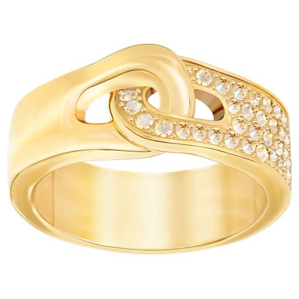 Gallon Ring, Golden, Gold-tone plated - Swarovski, 5293777