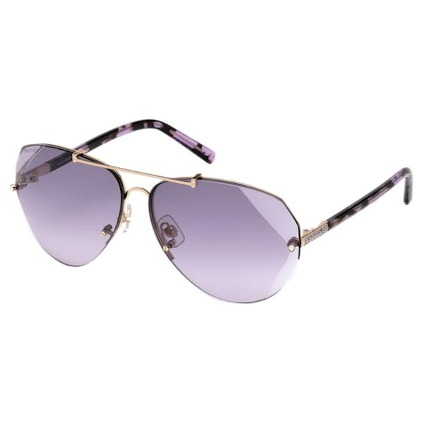 Swarovski Солнцезащитные очки, SK0134 28Z, Пурпурный кристалл - Swarovski, 5294038