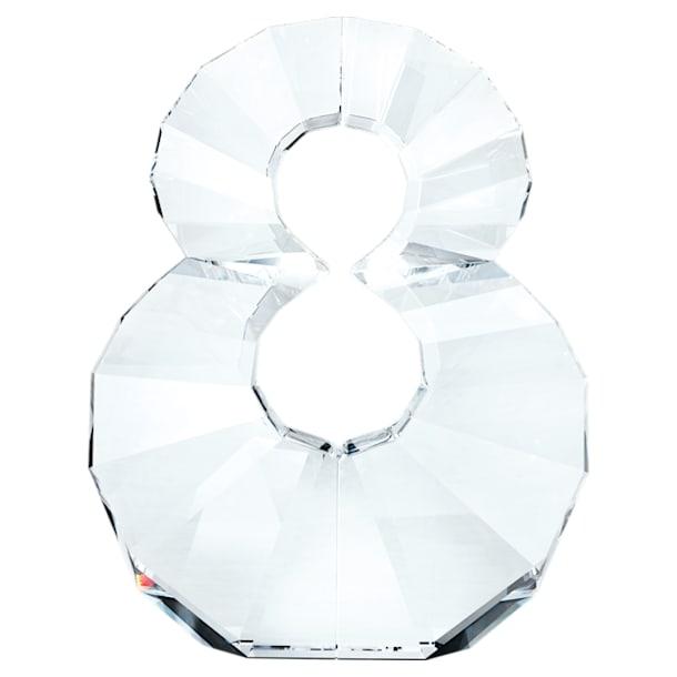 Chiffre 8, blanc - Swarovski, 5300562
