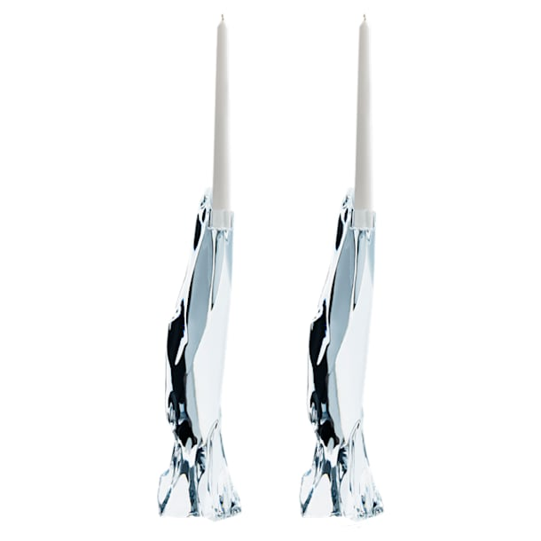 Candeleros Glaciarium, blanco - Swarovski, 5301131