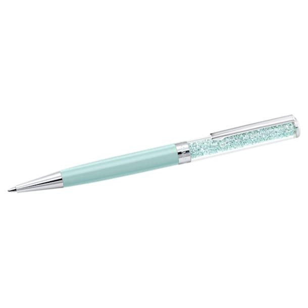 Penna a sfera Crystalline, Light Green - Swarovski, 5351072