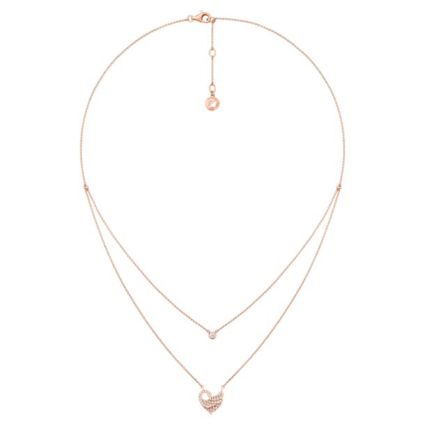 Dancing Swan 双层项链 - Swarovski, 5362918