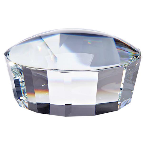 Facet Paperweight Lens, White - Swarovski, 5369746