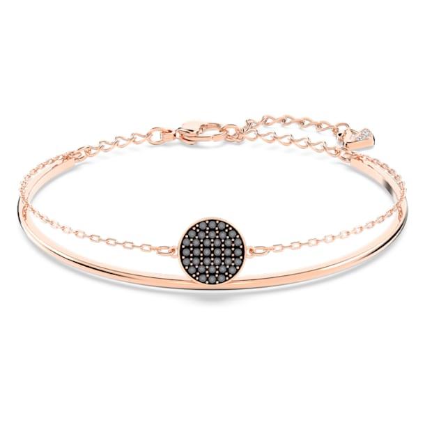 Bracelete Ginger, Cinzento, Lacado a Rosa dourado - Swarovski, 5389046