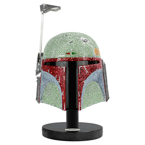 Star Wars – Casque Boba Fett, Édition Limitée - Swarovski, 5396304