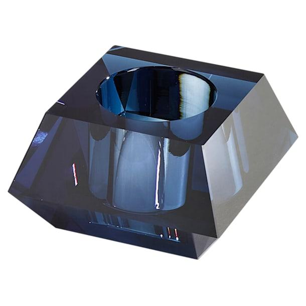 Lumen Square Candleholder, Blue - Swarovski, 5398638