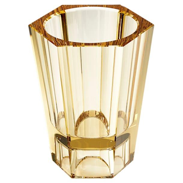 Lumen Reversible Vase, Medium, Gold tone - Swarovski, 5399201