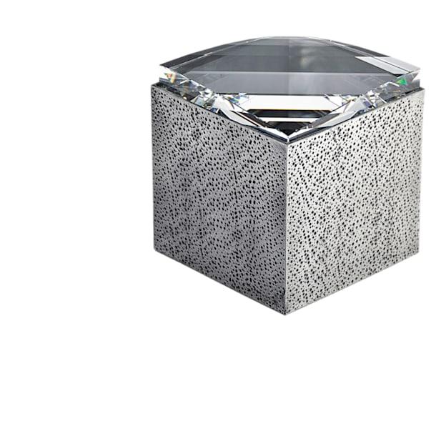 Caja Lustra, pequeña, tono plateado - Swarovski, 5400972