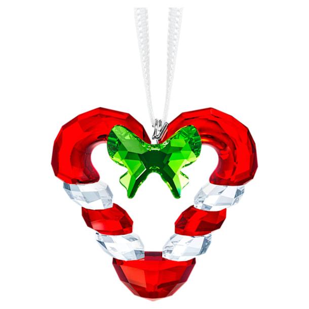 Candy Cane Heart Ornament - Swarovski, 5403314