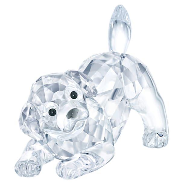 Labrador szczeniak, rozbawiony - Swarovski, 5408608
