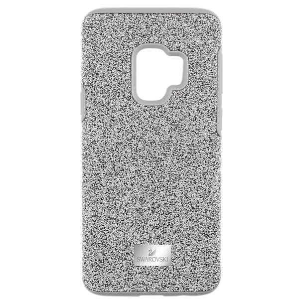 High Smartphone Case with Bumper, Samsung Galaxy S® 9, Grey - Swarovski, 5409455
