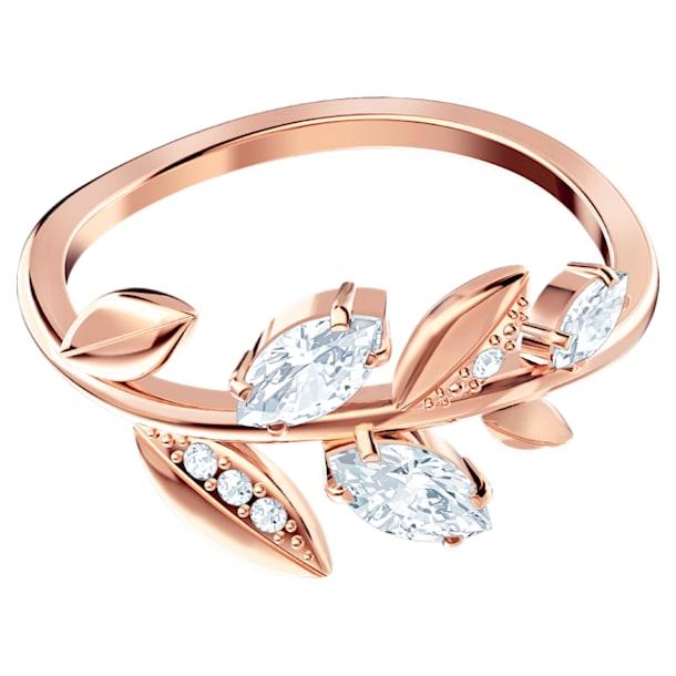 Mayfly Ring, weiss, Rosé vergoldet - Swarovski, 5409695