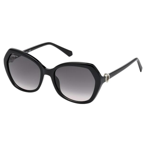 Sluneční brýle Swarovski, SK0165 – 01B, černé - Swarovski, 5411618