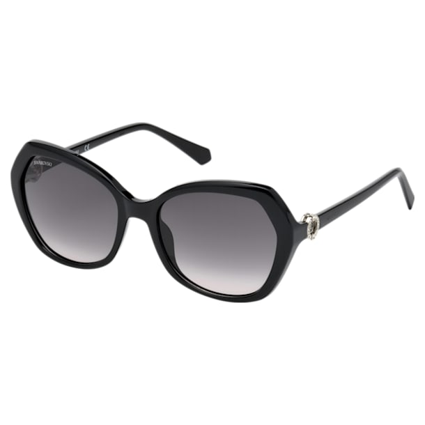 Swarovski Sunglasses, SK0165 - 01B, Black - Swarovski, 5411618