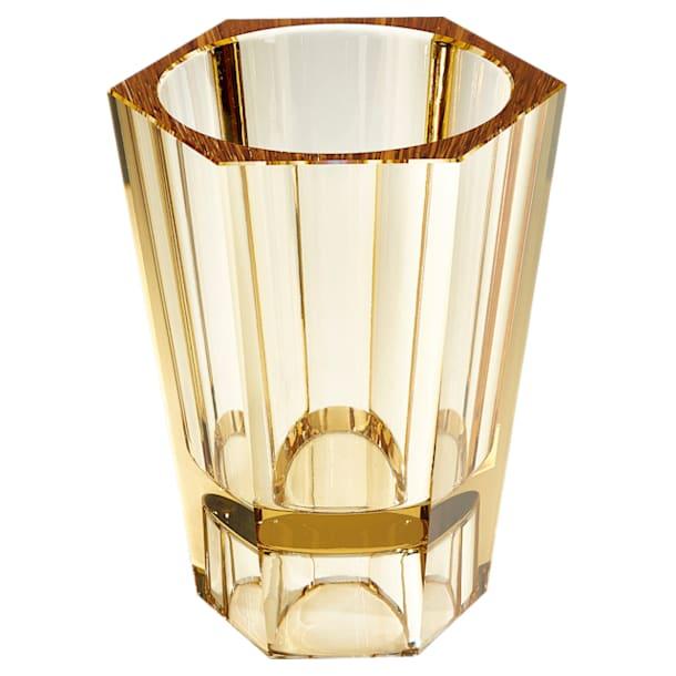 Lumen Reversible Vase, Large, Gold tone - Swarovski, 5421111