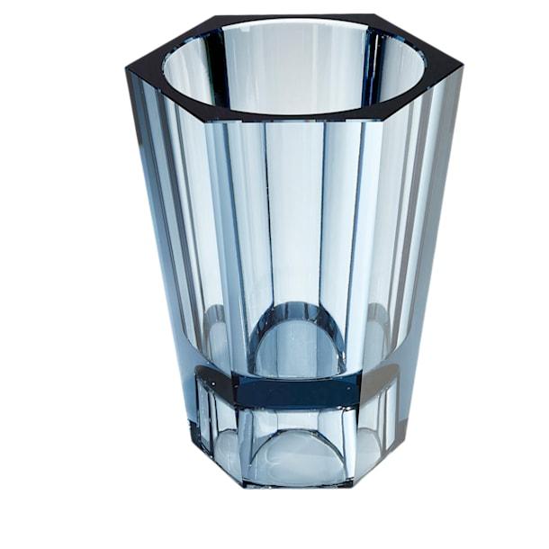 Lumen Reversible Vase, Large, Blue - Swarovski, 5421113