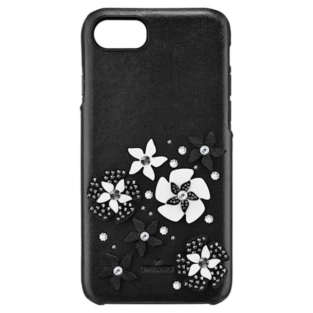 Mazy Smartphone Case with integrated Bumper, iPhone® 8, Black - Swarovski, 5427019