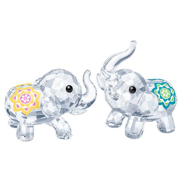 Éléphants Porte-bonheur - Swarovski, 5428004