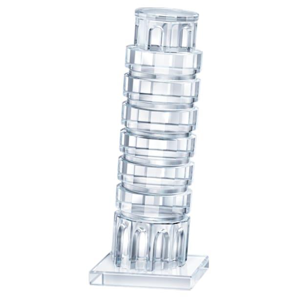 Decoración Tower of Pisa, Blanco - Swarovski, 5428010