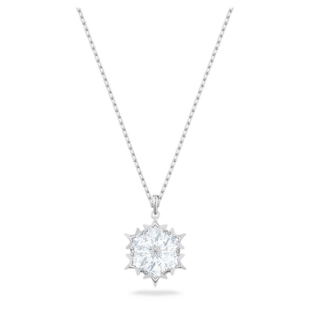 Pendente Magic, bianco, Placcatura rodio - Swarovski, 5428432
