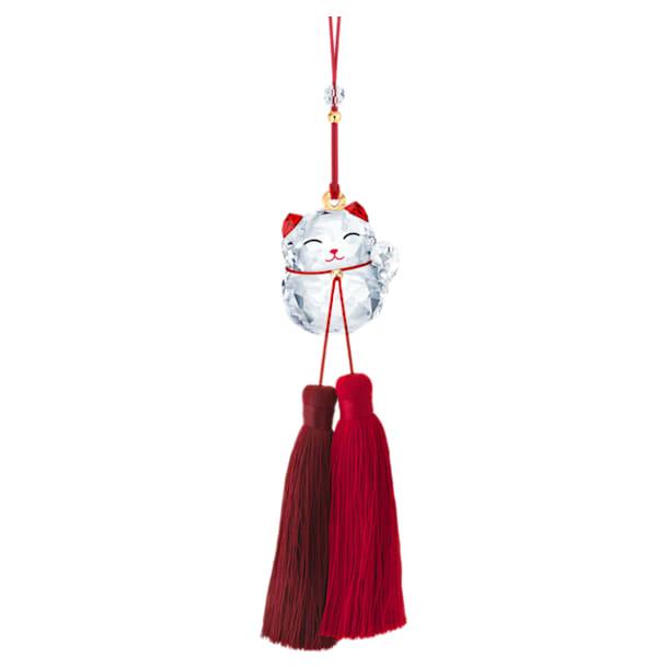 Lucky Cat Ornament - Swarovski, 5428642