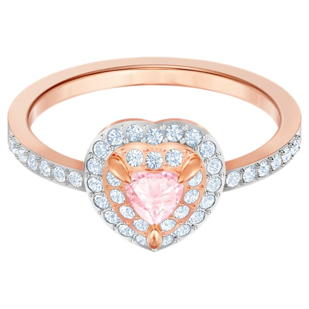 One Ring, mehrfarbig, Rosé vergoldet - Swarovski, 5439315