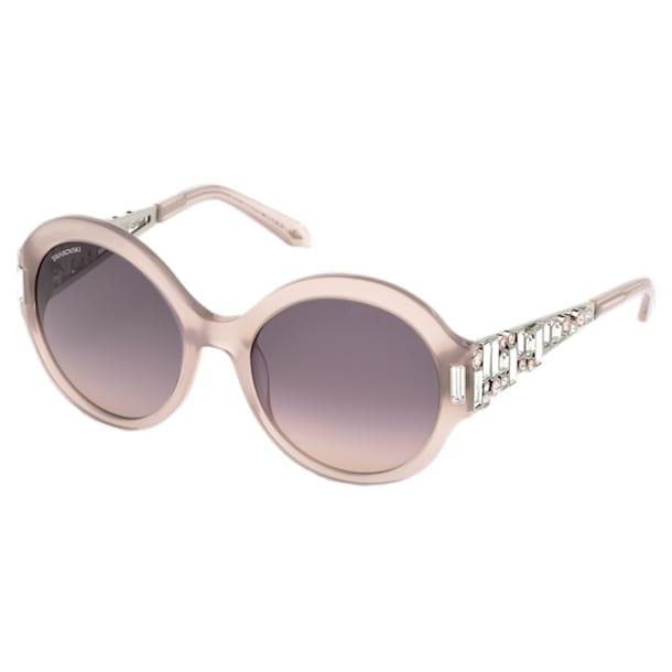 Nile Round Sunglasses, SK162-P 57E, Beige - Swarovski, 5443924