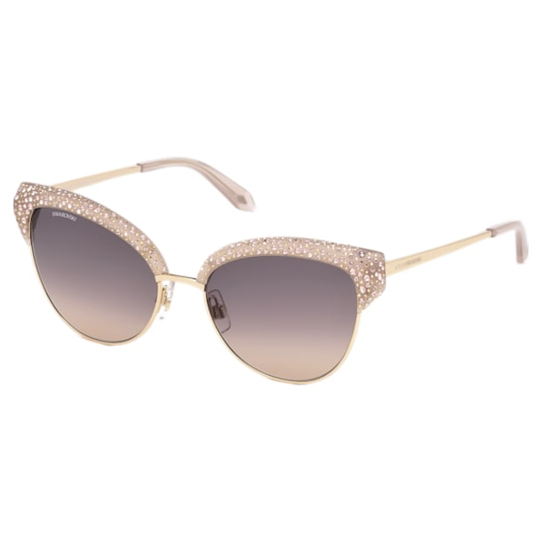 Moselle Cat Eye Sonnenbrille, SK164-P 57F, beige - Swarovski, 5443927